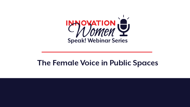 The Female Voice in Public Spaces