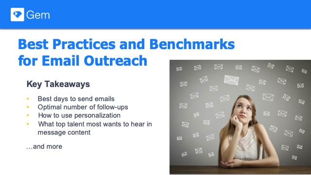 Best Practices and Benchmarks for Recruiting Email Outreach