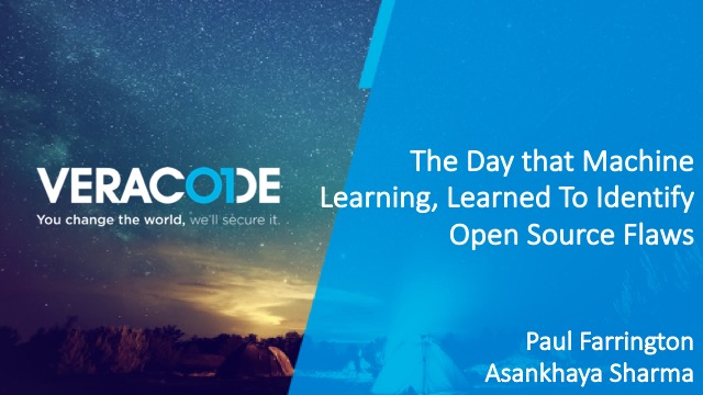The Day that Machine Learning, Learned To Identify Open Source Flaws