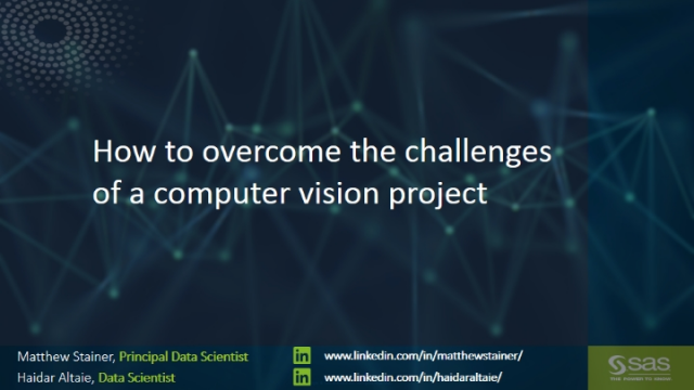 How to overcome the challenges of a computer vision project