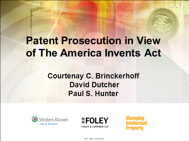 How US patent reform will affect your filing