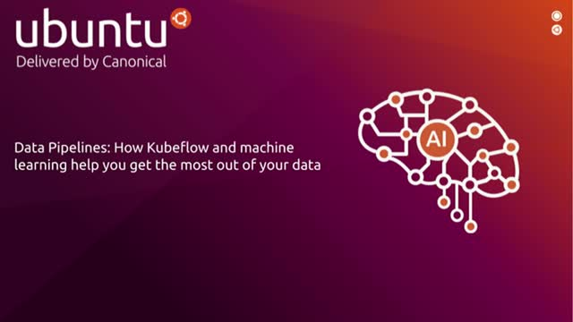 Data Pipelines - Get the most out of your data with Kubeflow & machine learning