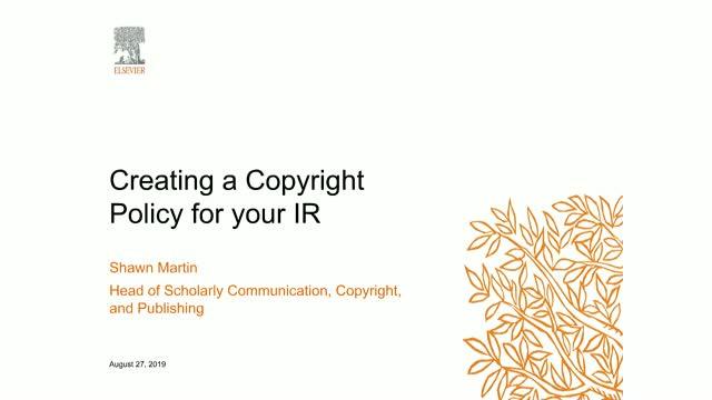 Replay: Creating a Copyright Policy for your IR