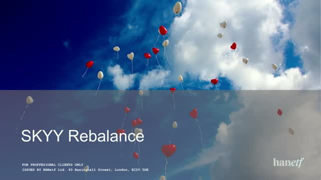 SKYY Rebalance | Investing in Cloud Technologies
