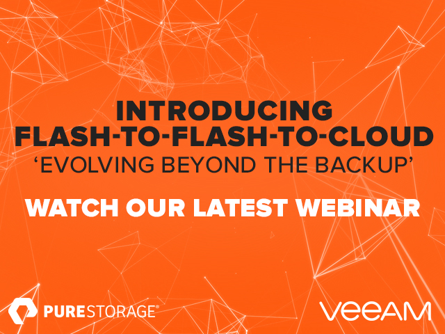 Flash Enabled Availability - Evolving Beyond the Backup