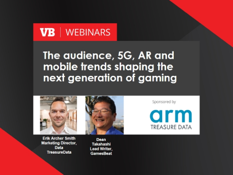 The audience, 5G, AR and mobile trends shaping the next generation of gaming