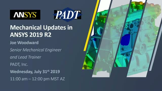 Mechanical Updates in ANSYS 2019 R2