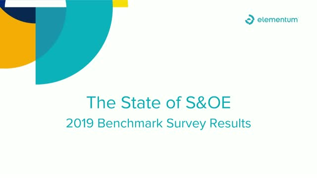 Today's State of S&OE