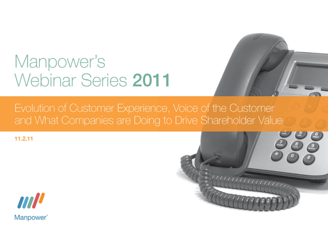 Evolution of Customer Experience and the Voice of the Customer