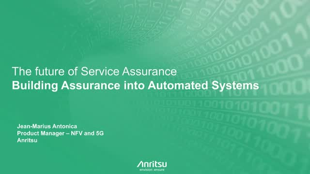 Building Assurance into Automated Systems