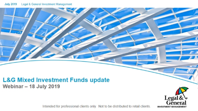 Mixed Investment Funds Q3 2019 update
