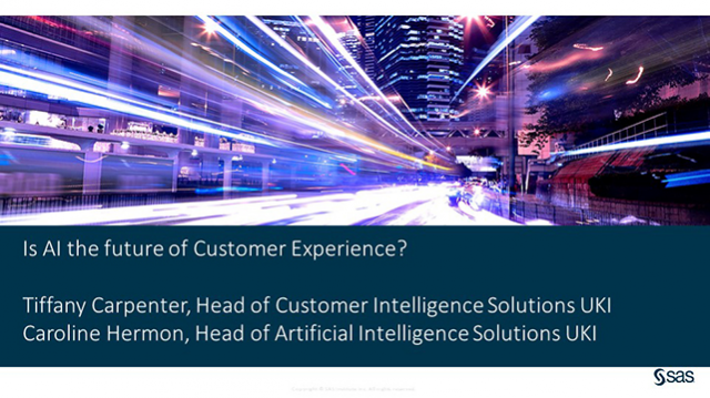 Is AI the future of Customer Experience?