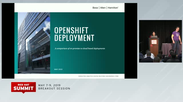 Red Hat OpenShift Deployment Considerations: On-Premise or Cloud Deployment