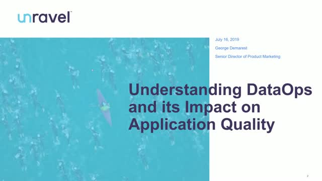 Understanding DataOps and Its Impact on Application Quality