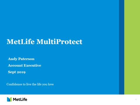 Introduction to MetLife MultiProtect