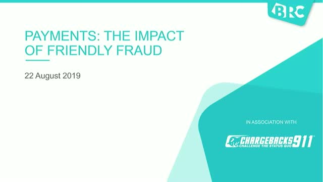 Payments & Retail: the impact of friendly fraud