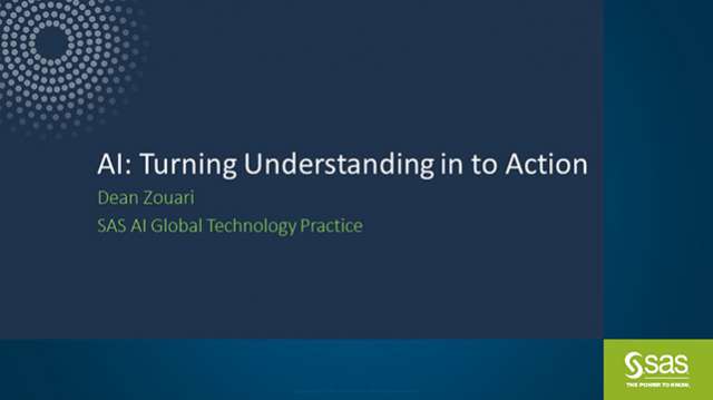 AI: Turning understanding into Action