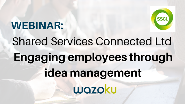 Engaging employees through idea management