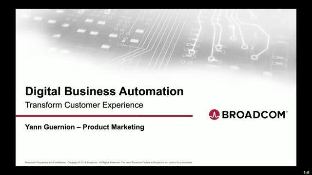 Transforming customer experience with Digital Business Automation