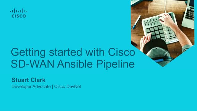 Getting started with Cisco SD-WAN Ansible Pipeline