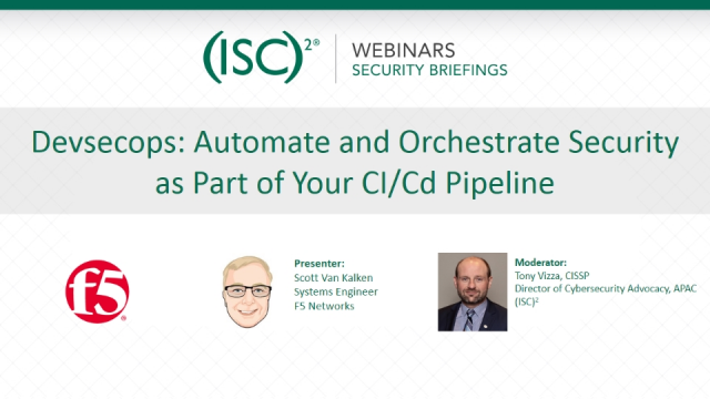Devsecops: Automate and Orchestrate Security as Part of Your CI/Cd Pipeline