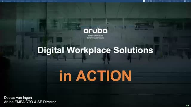 Aruba: Digital Workplace Solutions in Action