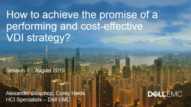 How to achieve the promise of a performing and cost-effective VDI strategy?