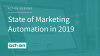 State of marketing automation in 2019