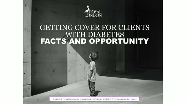 Getting cover for clients with diabetes - the facts and the opportunity