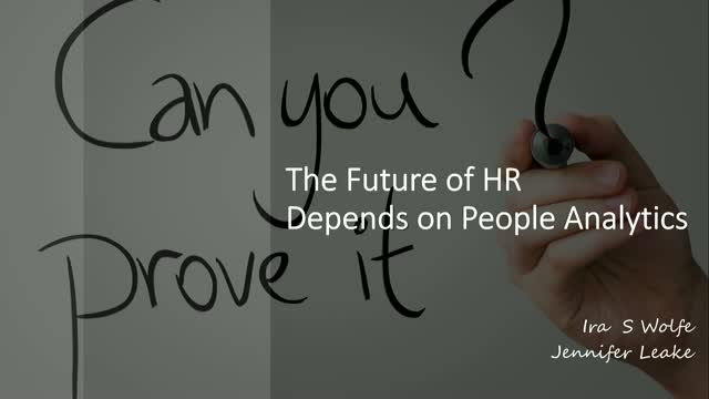 The Future of HR Depends on People Analytics