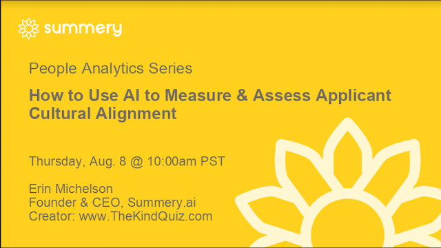 How to Use AI to Measure & Assess Applicant Cultural Alignment