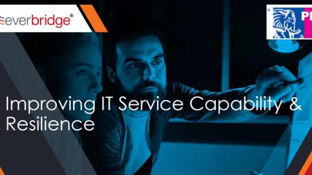 Improving IT Service Capability and Resilience
