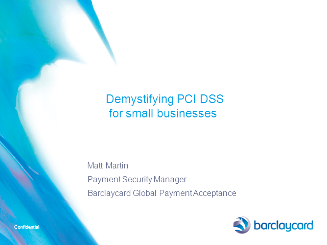 PCI DSS Demystified For SMEs