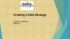 Creating a Data Strategy