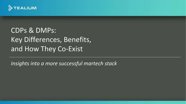 CDPs and DMPs: Key Differences, Benefits & How They Co-Exist