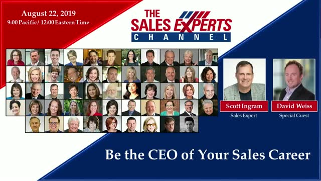 Be the CEO of Your Sales Career