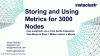 Storing and Using Metrics for 3000 nodes - How Instaclustr use a Time Series Cas
