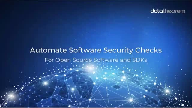 Automating Software Security Checks for Open Source Software and SDKs