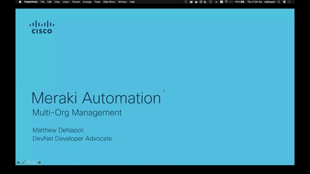 Meraki Automation – Multi-Org Management