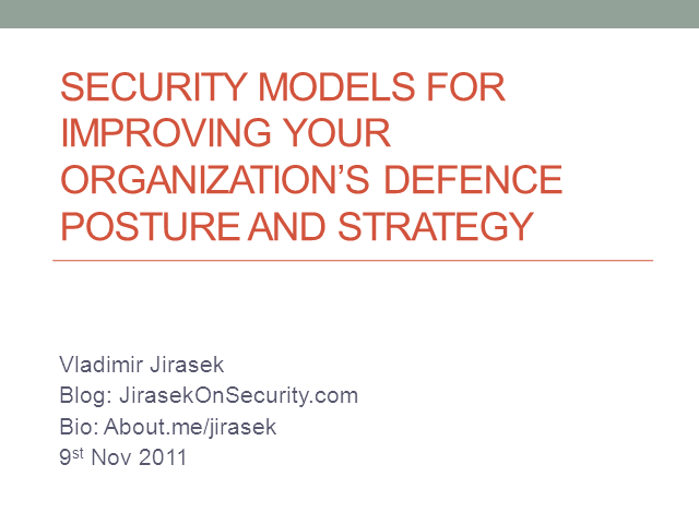 Improving Your Organization's Defense Posture And Strategy
