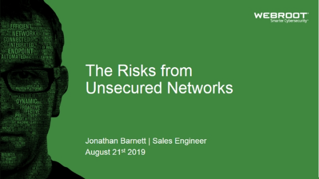 The Risks From Unsecured Networks (APAC)