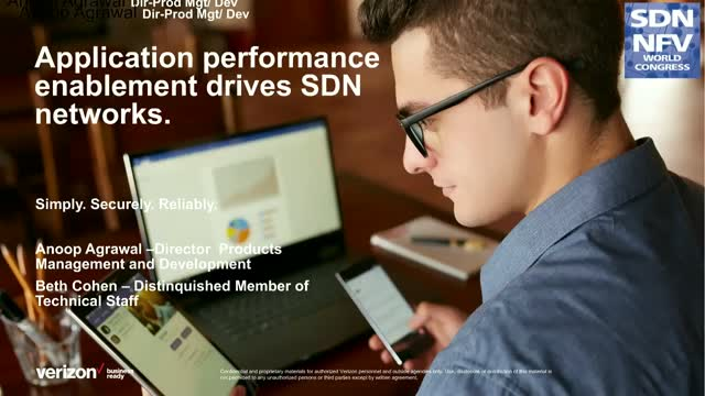 Application Performance Enablement Drives SDN Networks