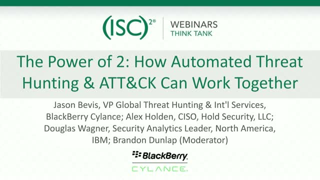 The Power of 2: How Automated Threat Hunting & ATT&CK Can Work Together
