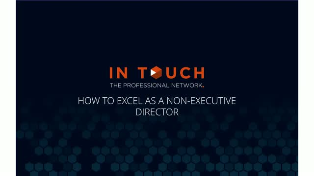 How to Succeed as a Non-Executive Director