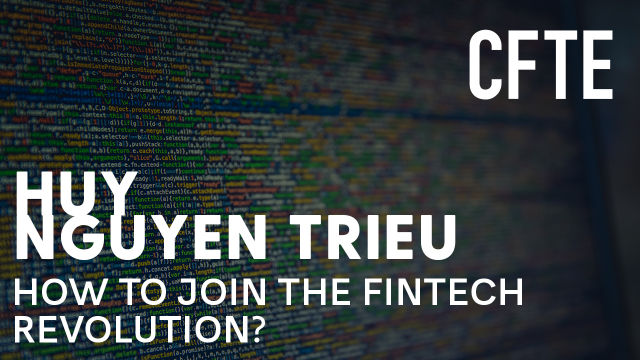 How to join the Fintech Revolution?