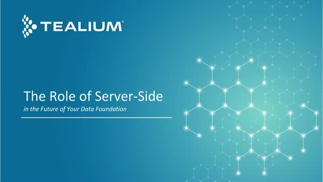 The Role of Server-Side in the Future of Your Data Foundation