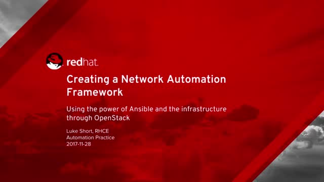 Using Ansible to Modernize and Automate Workflows