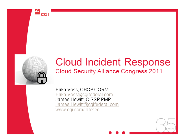 Cloud Incident Response