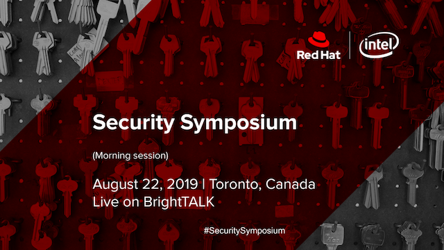 Security Symposium – Morning Sessions