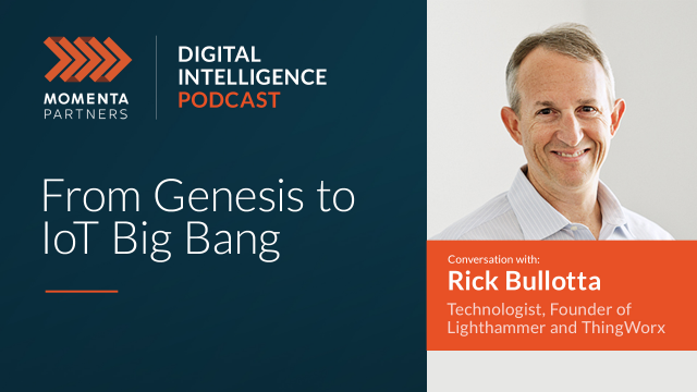 Top 5 Podcasts: From Genesis to IoT Big Bang: A Conversation with Rick Bullotta